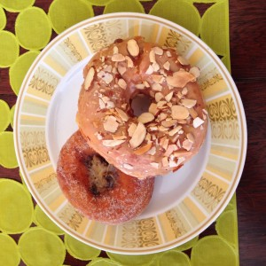 Coffee Cream, Dulce de Leche with Toasted Almonds