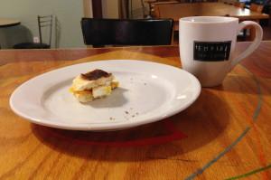 Breakfast Sandwich on a Bolo
