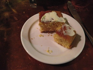 First things first, cornbread